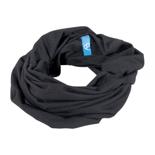 Bufanda tubular Sport Logo negra