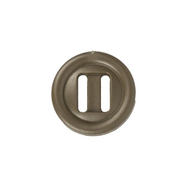 ITW Nexus botón de orificio alargado 20mm verde oliva