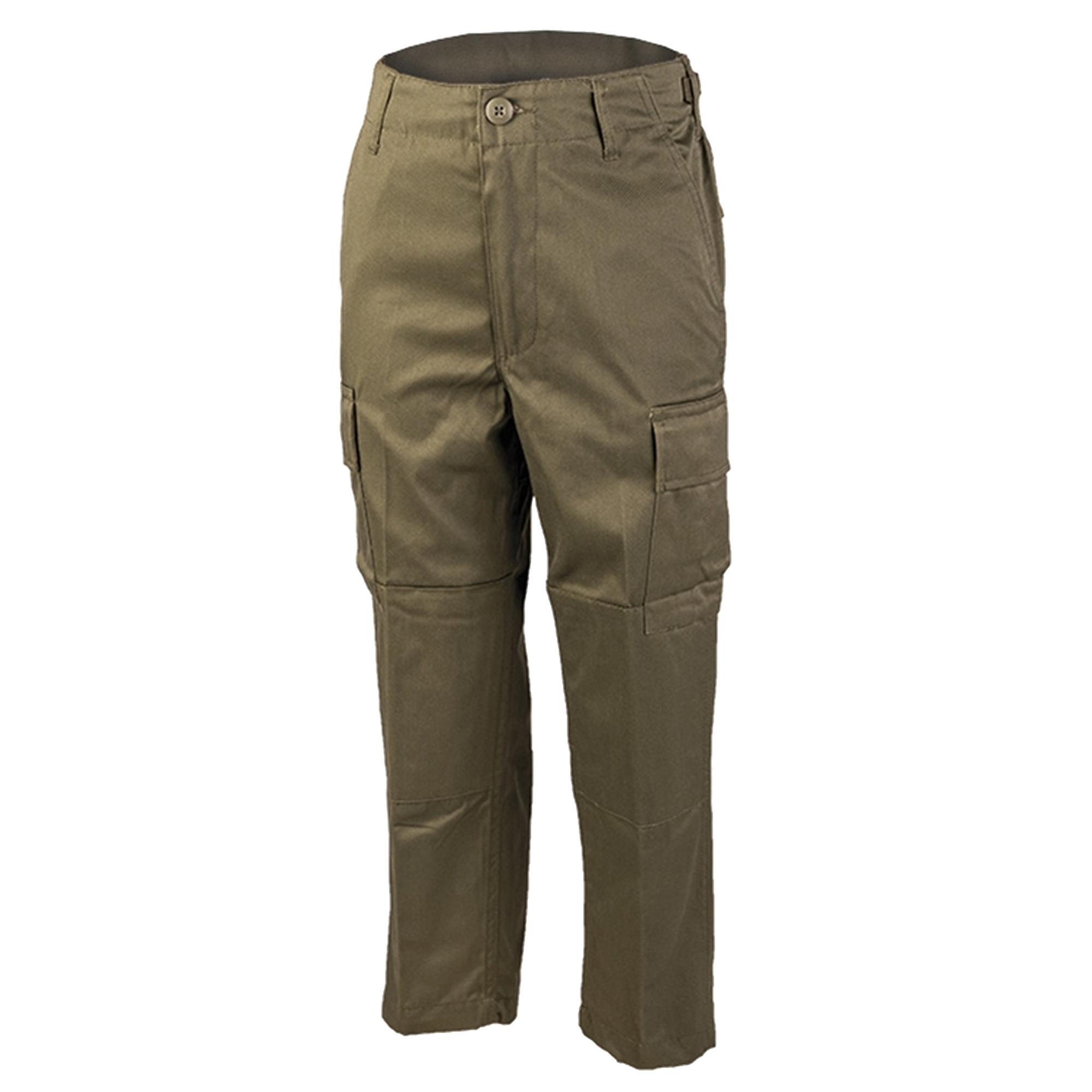 Pantalón BDU para niños - verde oliva