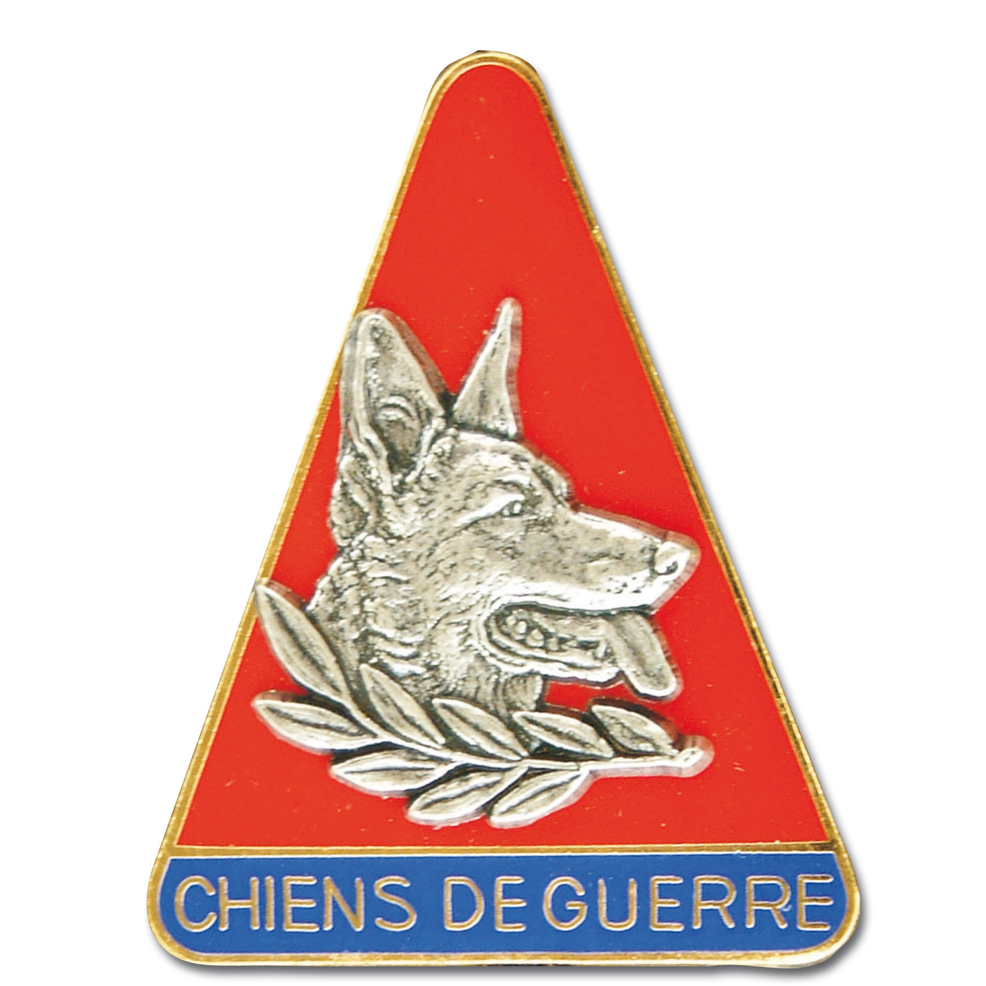 Insignia francesa Chiens de Guerre
