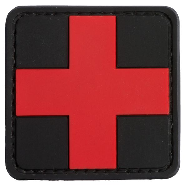 Parche - 3D TAP Red Cross Medic negro-rojo