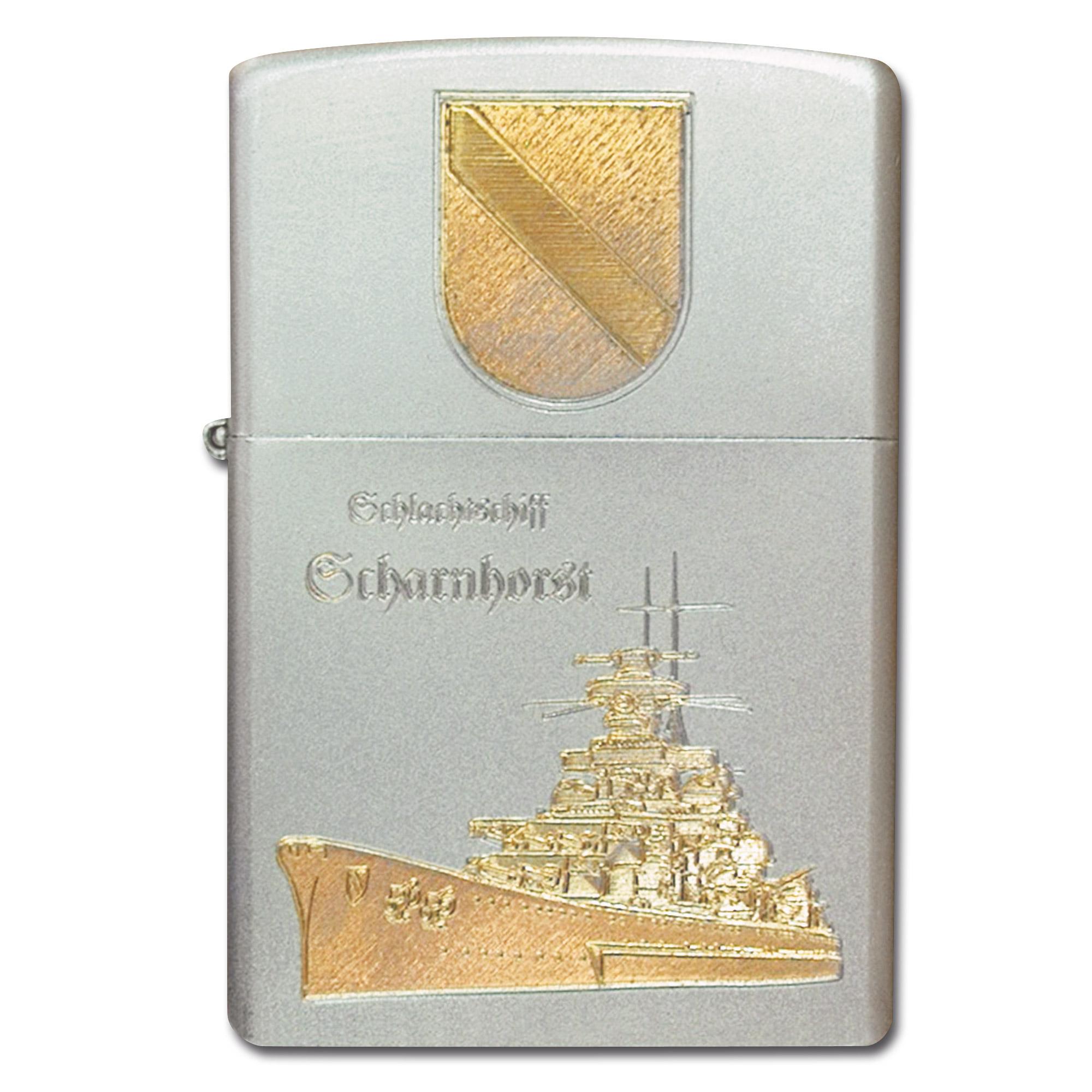Zippo con grabado Scharnhorst