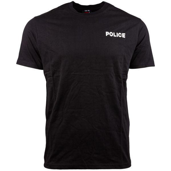 Camiseta TOE Concept Strong Police negra