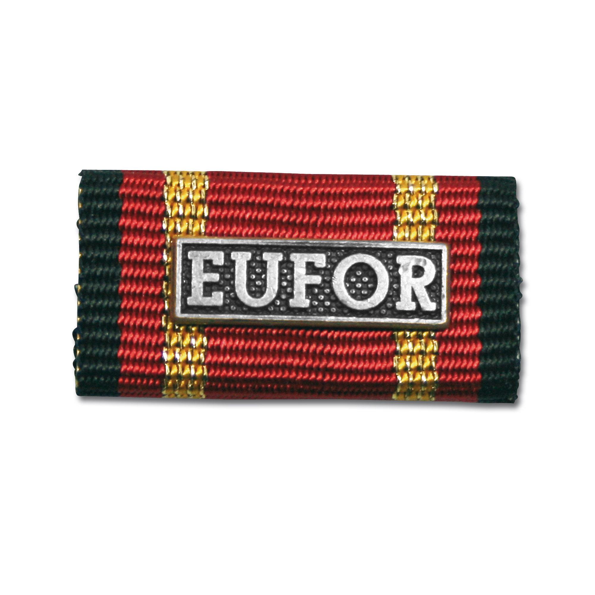 Medalla al servicio EUFOR silber