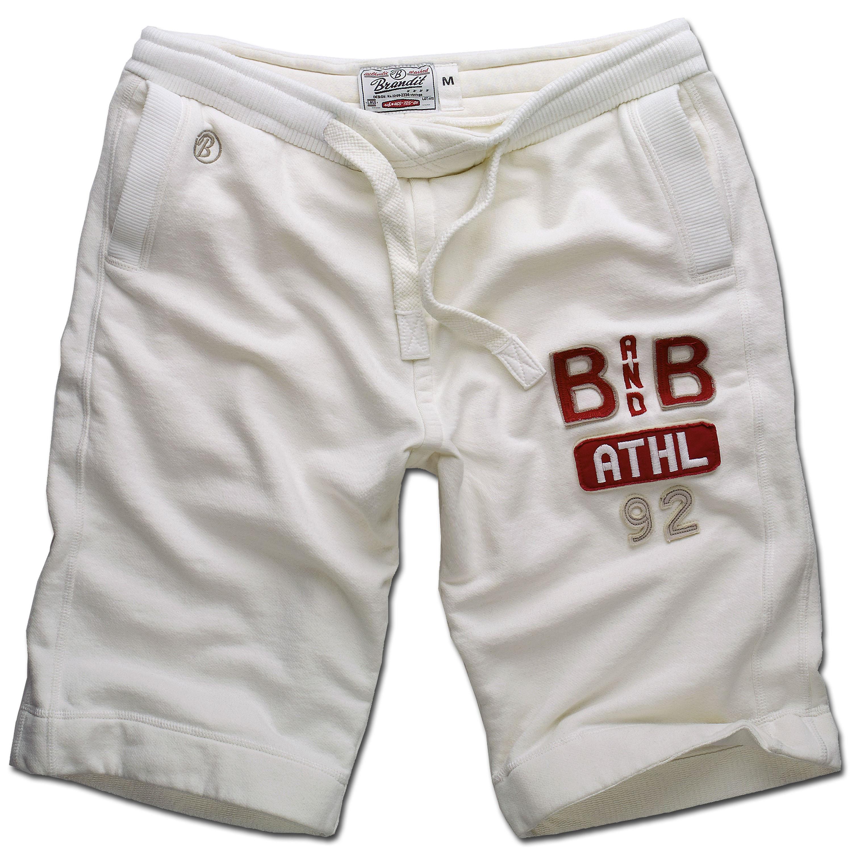 Pantalón corto deportivo Brandit blanco