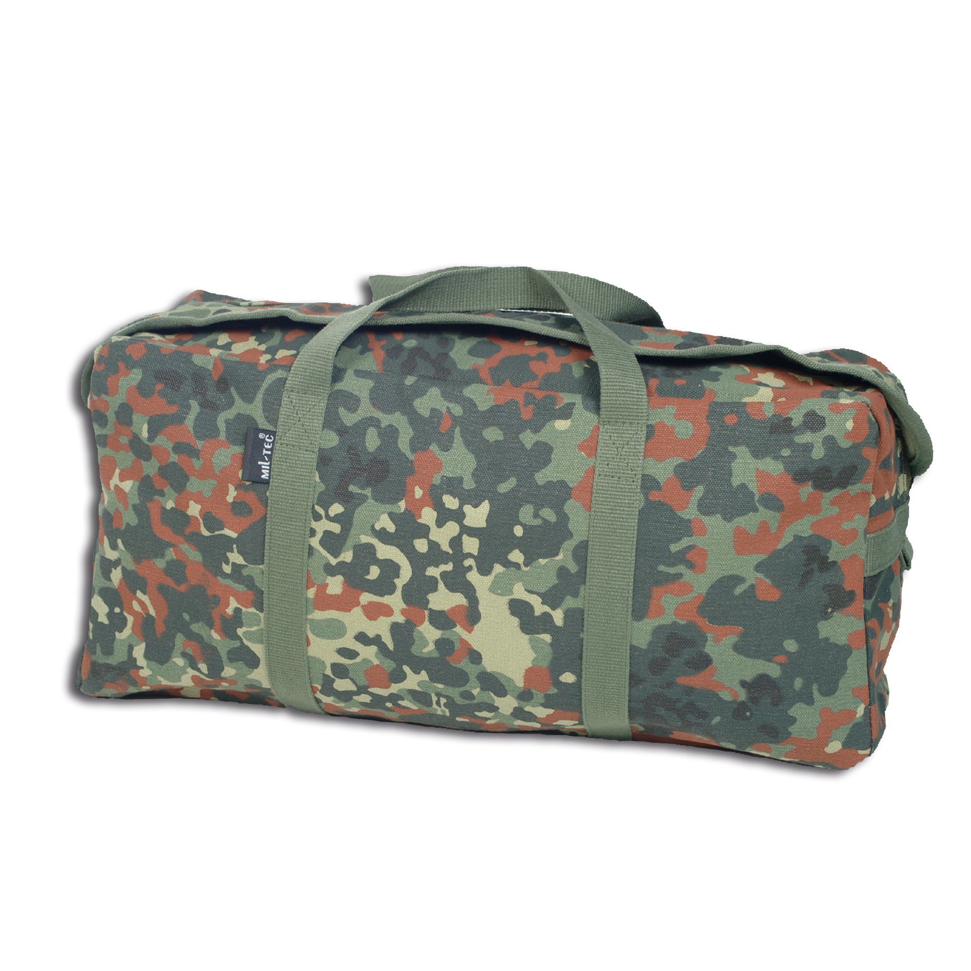 Bolsa de transporte Canvas mediana flecktarn