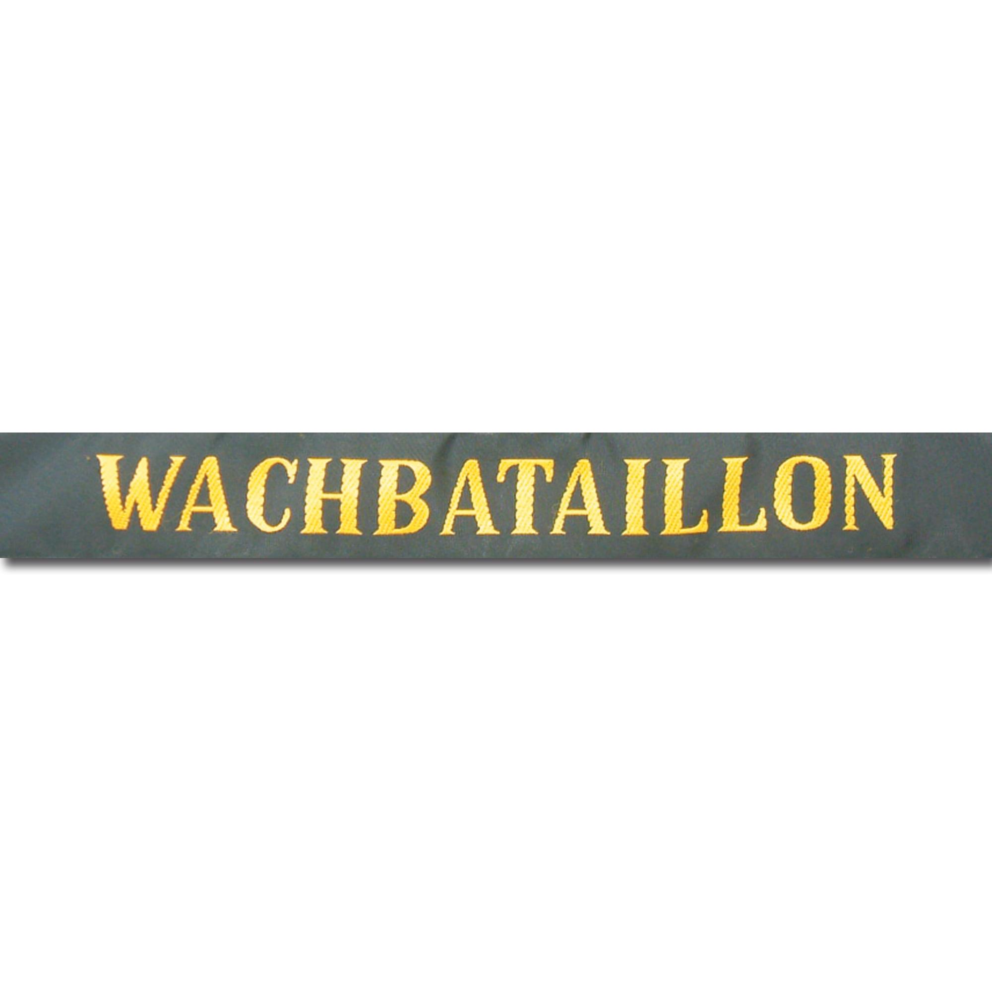 Banda para gorra Wachbataillon