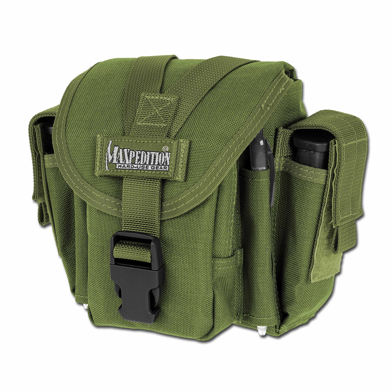 Bolsa para cinturón Maxpedition M4 Waistpack verde oliva