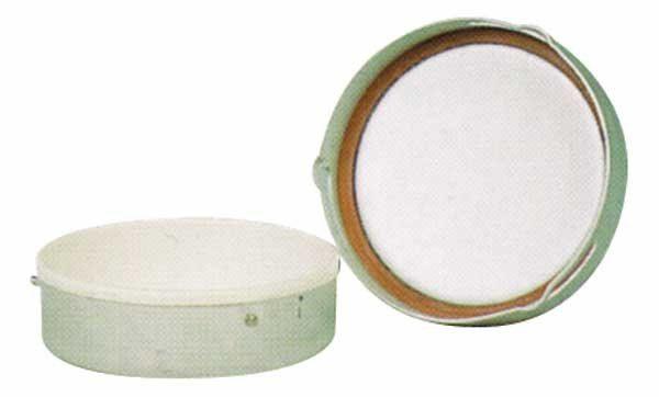 Lata de mantequilla BW usada