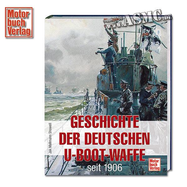 Libro Geschichte der deutschen U-Boot-Waffe seit 1906