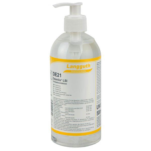Langguth Desinfección de las manos Desmila LSI DE21 500 ml