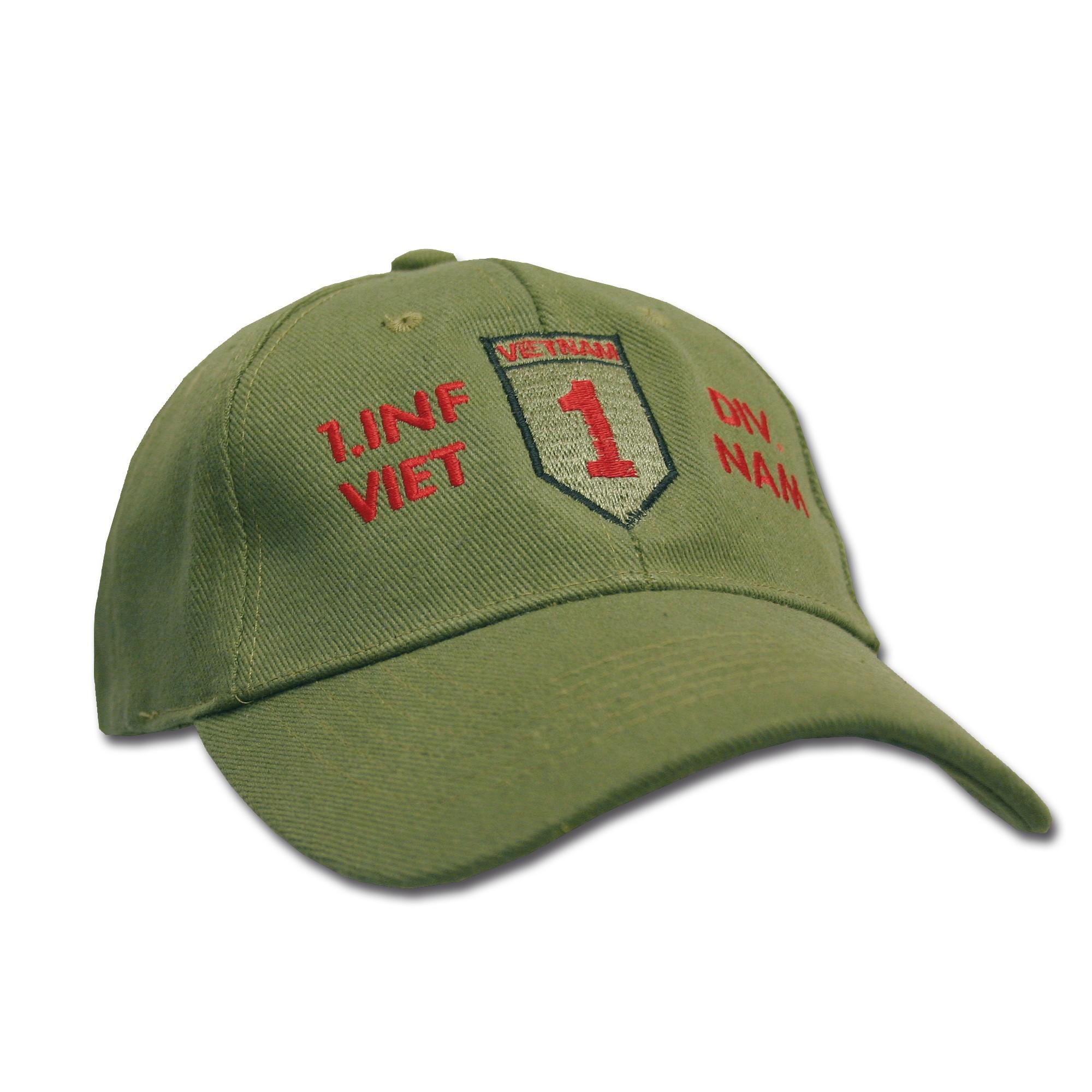 Gorra de béisbol 1.Inf.Div. Vietnam