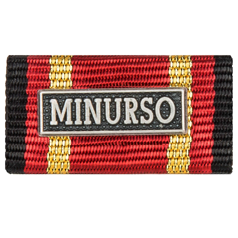 Medalla al servicio MINURSO silber