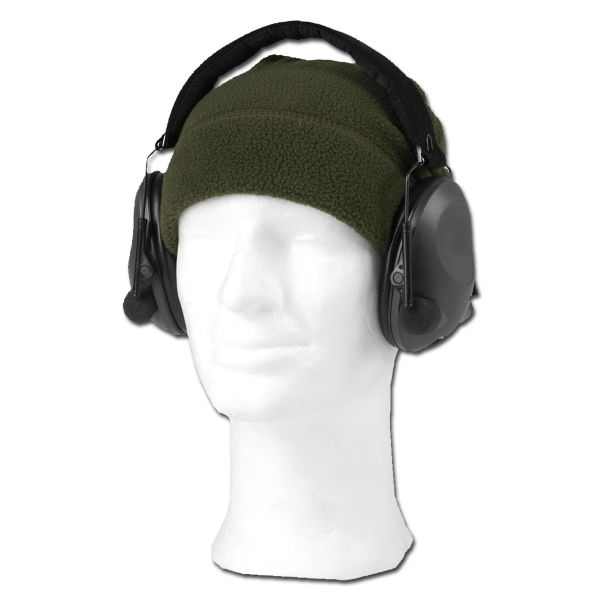 Protección auditiva electrónica Mil-Tec negro