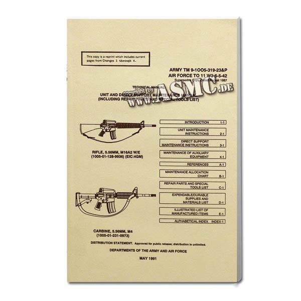 Libro M16A2 Rifle & M 4 Carbine