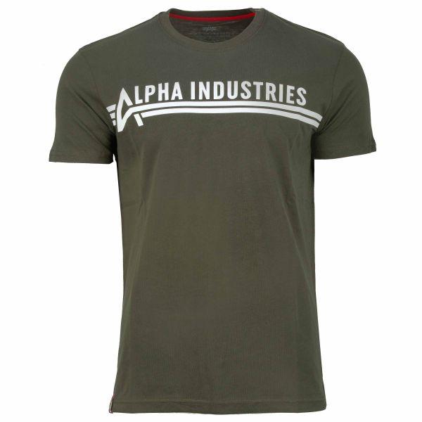Alpha Industries Camiseta T dark olive