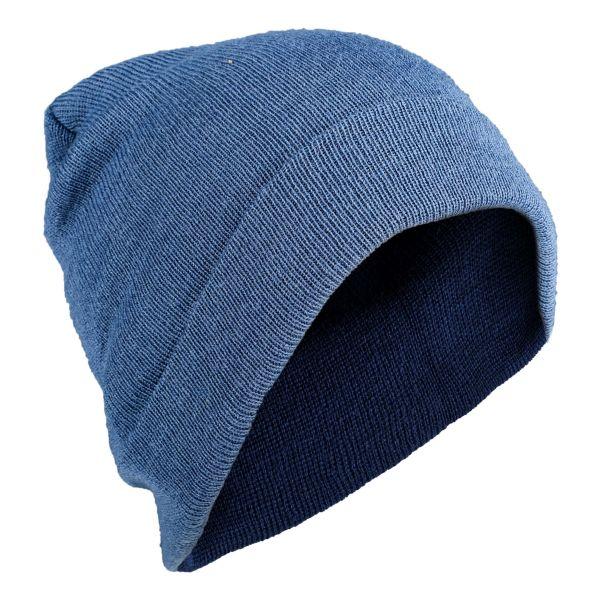 Gorra de lana azul royal