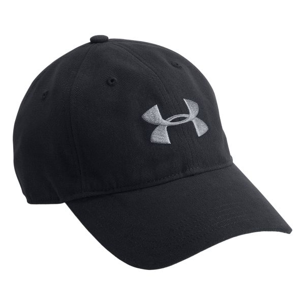 Gorra Under Armour Cap Mens Core Canvas negra