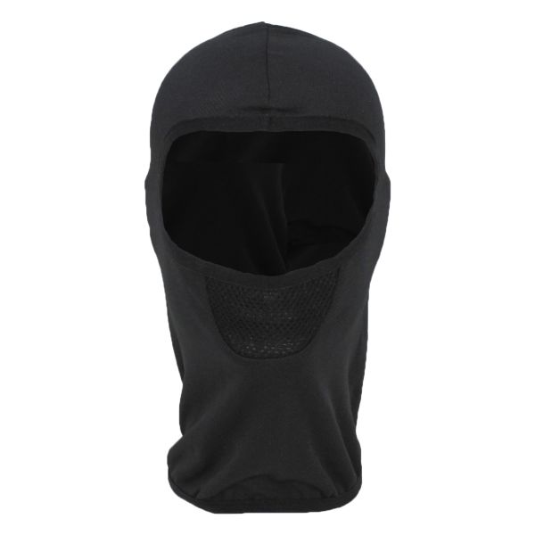 Balaclava MFH Tactical 1-orificio negro