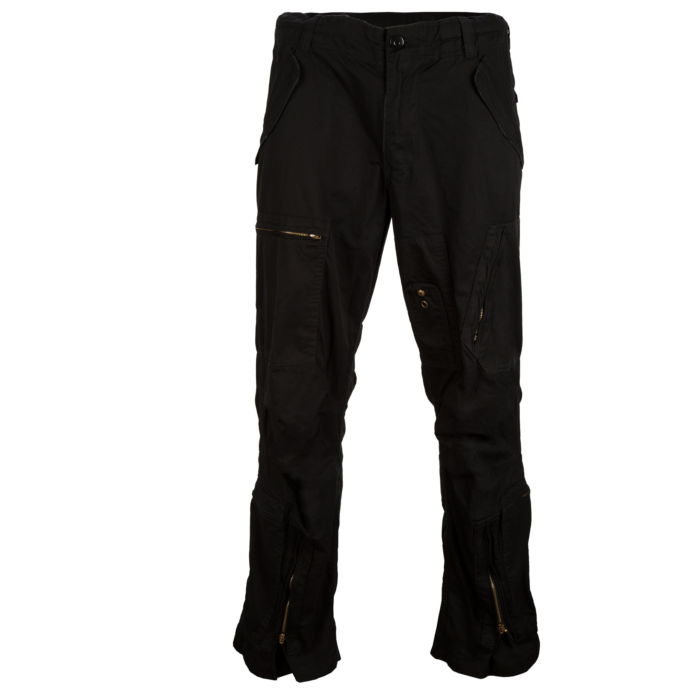 Pantalón aviador Mil-Tec prelavado negro