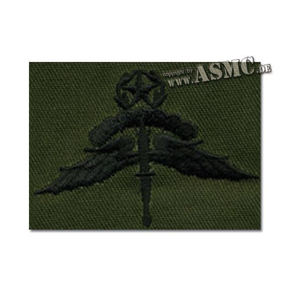 Insignia textil US Freefall Halo Master verde oliva