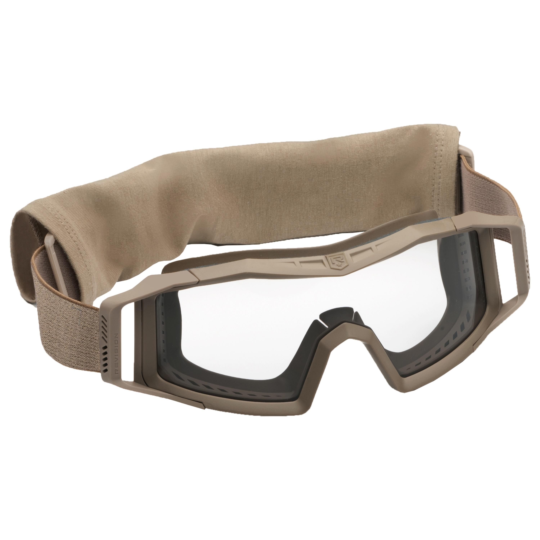 Gafas Revision Wolfspider Basic tan lentes claras
