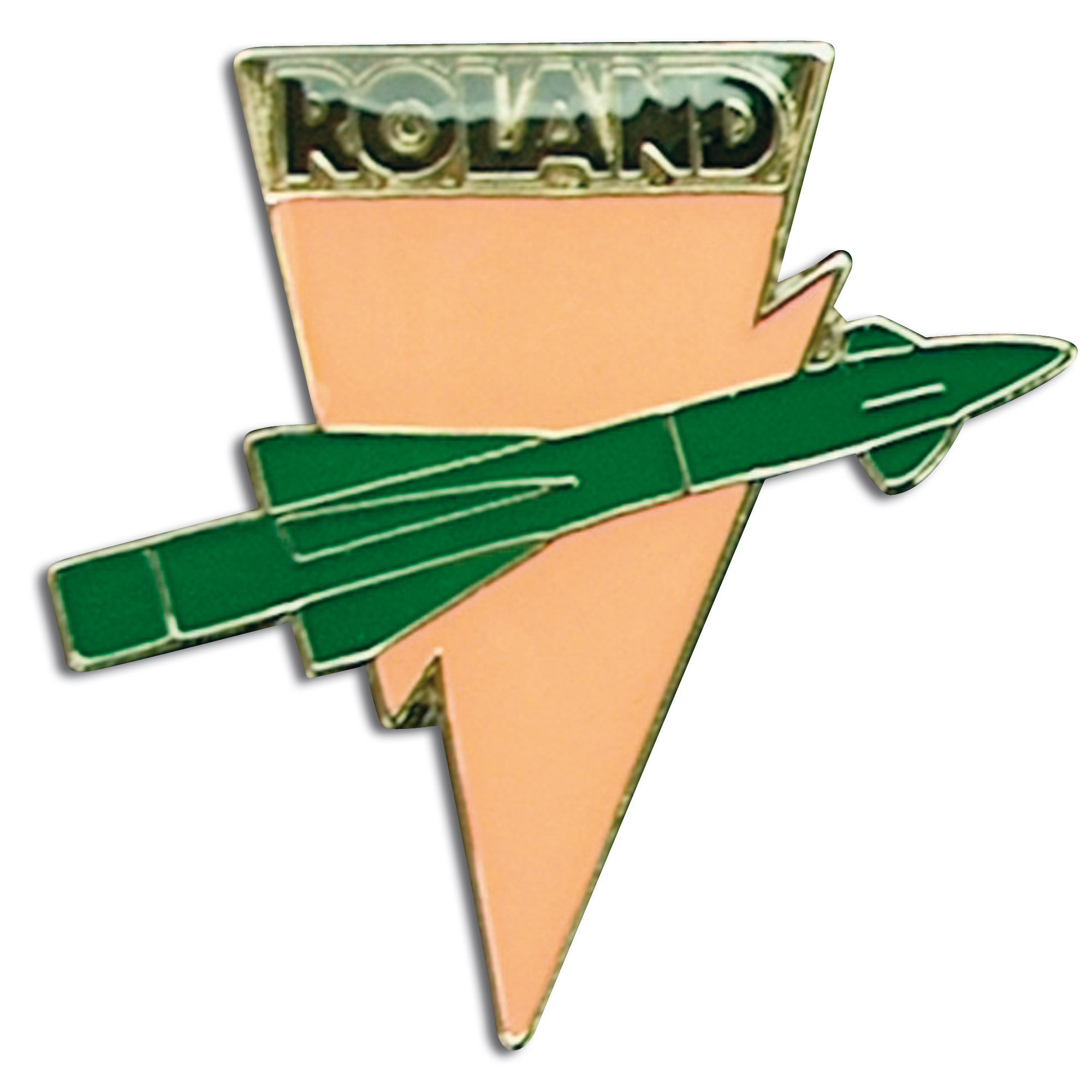 Mini Pin metálico Roland Rakete