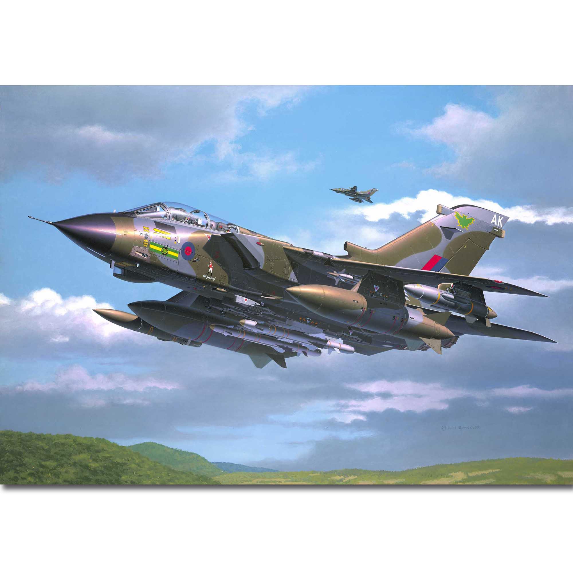 Modelo a escala Revell Tornado GR.1 RAF
