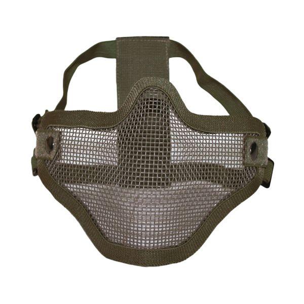 Máscara de protección Airsoft SM verde oliva