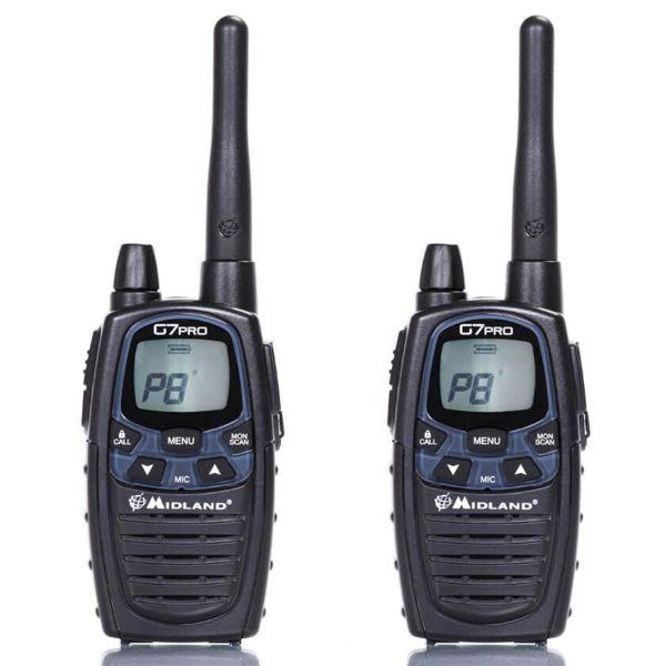 Radio Midland G7E Pro Paar PMR
