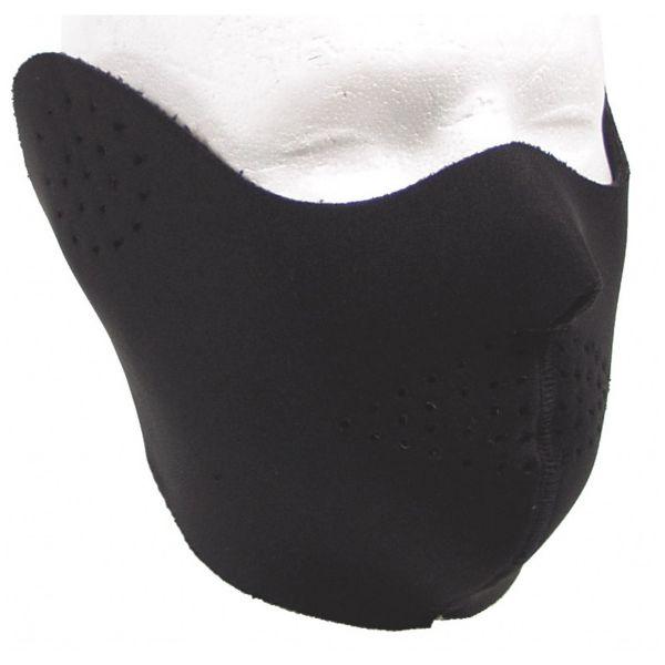 Protector de neopreno - medio rostro negro