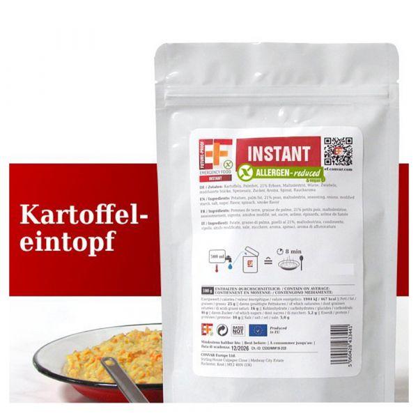 EF Emergency Food Estofado de papas bolsa