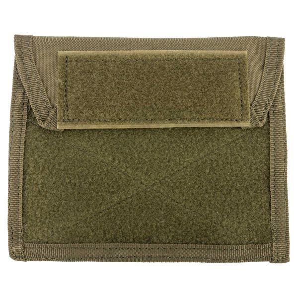 Bolsillo de pecho Molle MFH con velcro verde oliva