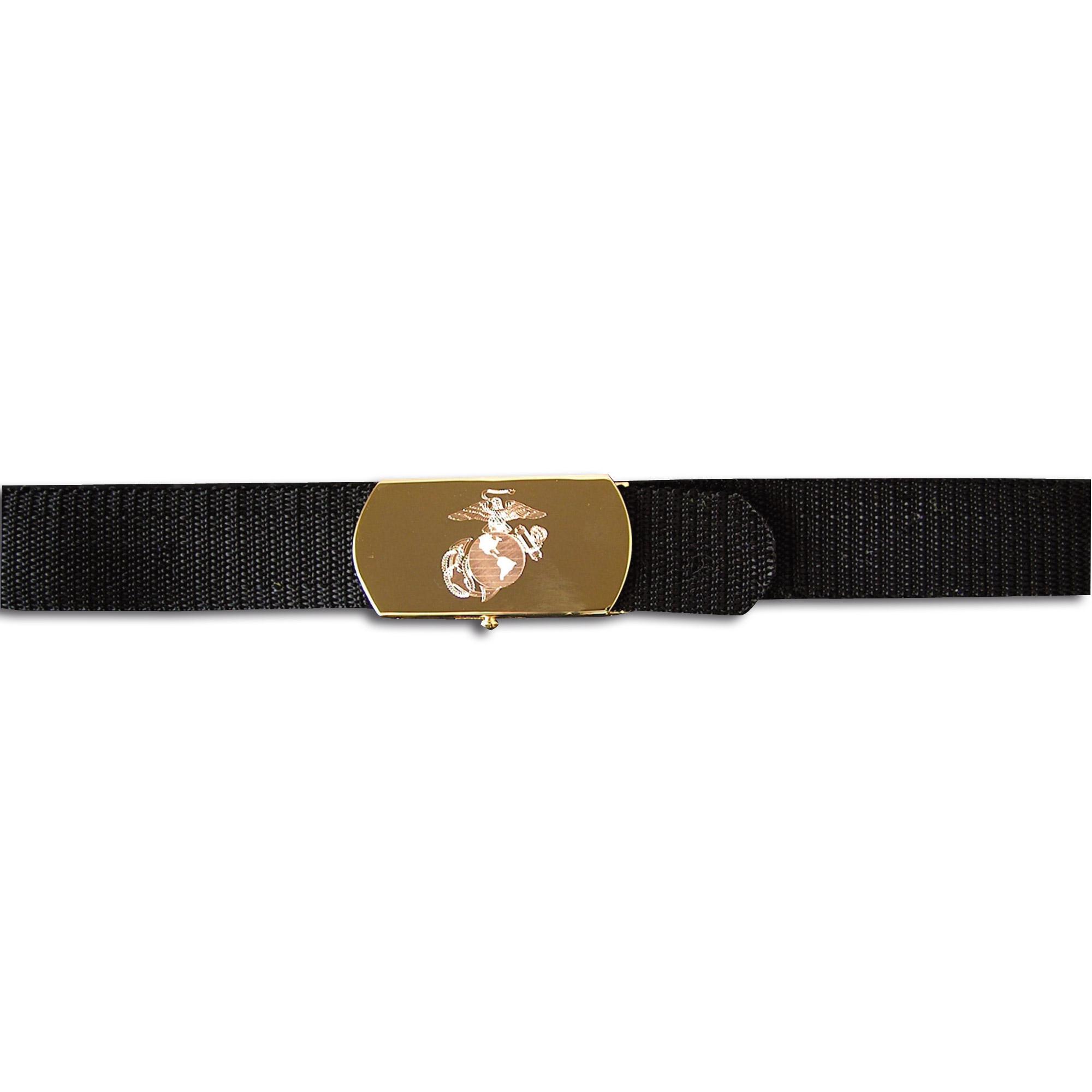 Cinturón con hebilla USMC
