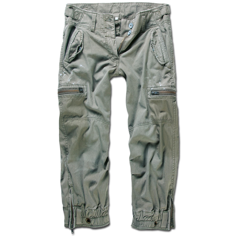 Pantalones cortos Brandit Ladies Scotch verde oliva
