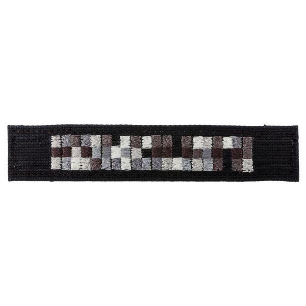 Portanombres Spezialkräfte negro gris