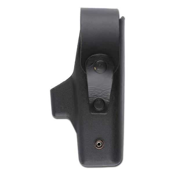 Pistolera para cinturón P6 negra usada para diestros