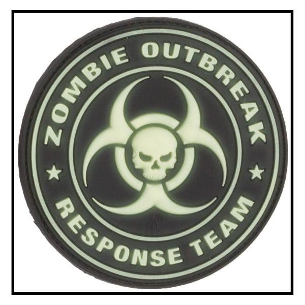 Parche-3D Zombie Outbreak Response Team luminiscente