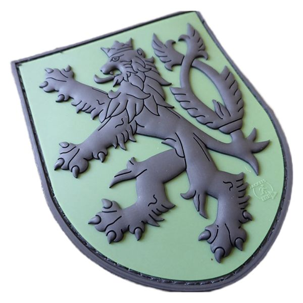 Parche - 3D JTG CZ Escudo con león forest