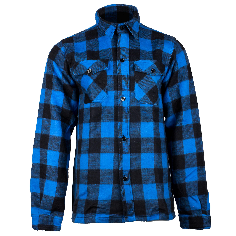 Camisa de leñador azul