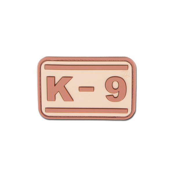 Parche 3D K-9 desert