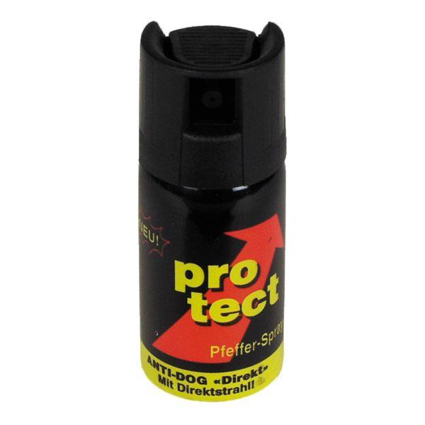 Gas pimienta Protect 40ml chorro pulverizado balístico