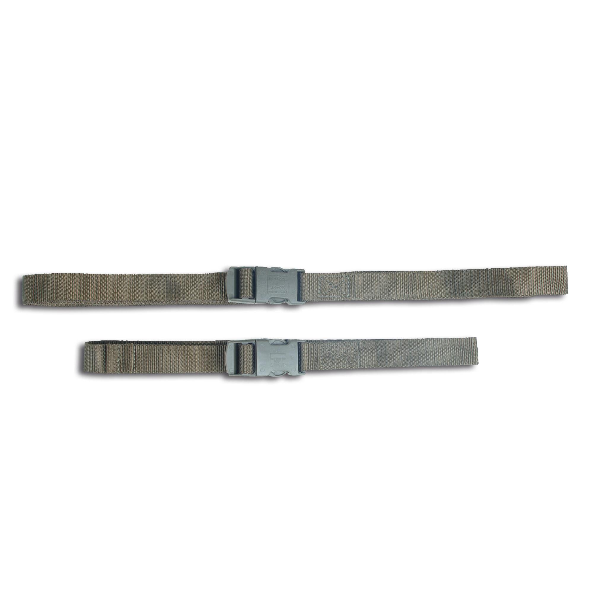 Cinturón ceñidor con cierre de hebilla verde oliva 80 cm