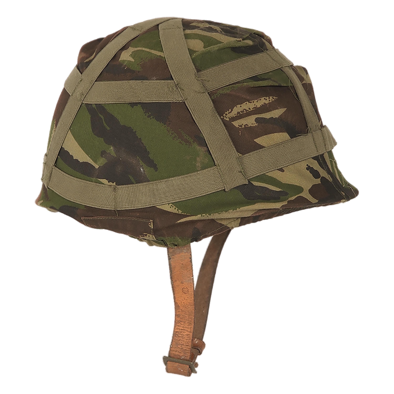Funda para casco británico camuflaje DPM usada