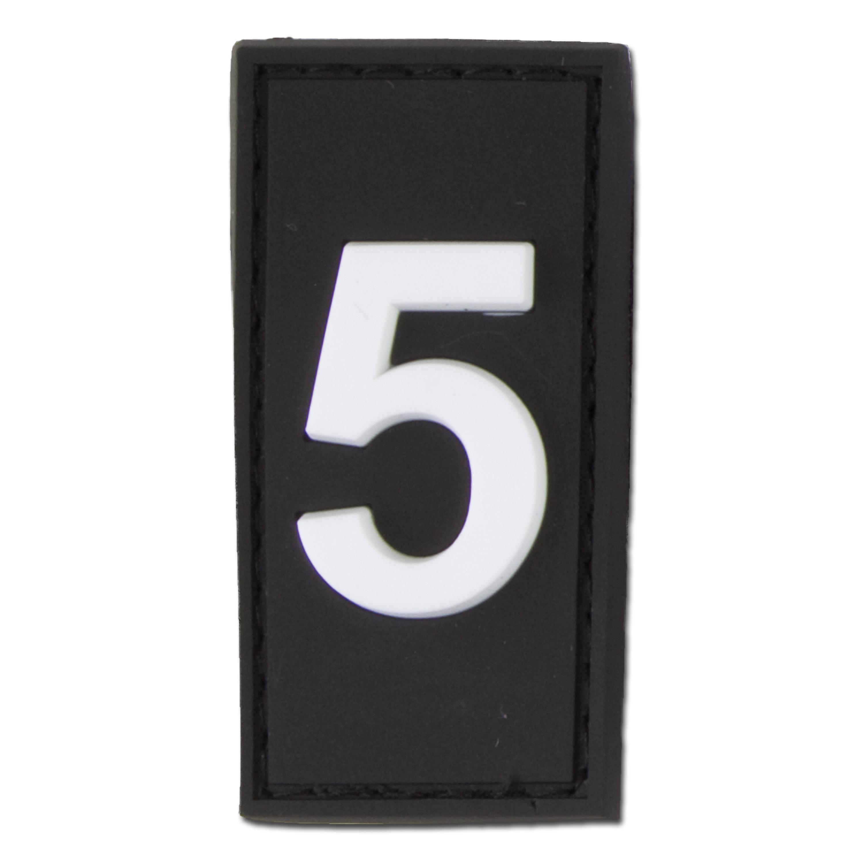 Parche ID- 3D N° 5 swat
