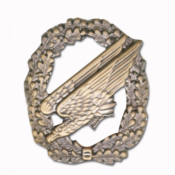 Distintivo de boina Fallschirmjäger-Paracaidista sin bandera bro