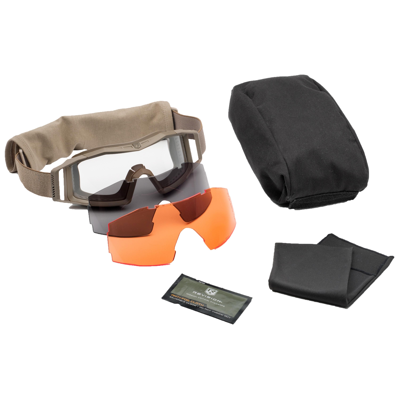 Gafas Revision Wolfspider Deluxe lentes tan naranja