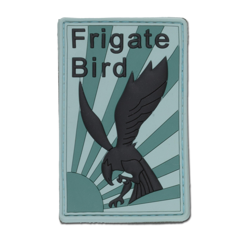 Parche 3D Frigate Bird verde / verde oliva