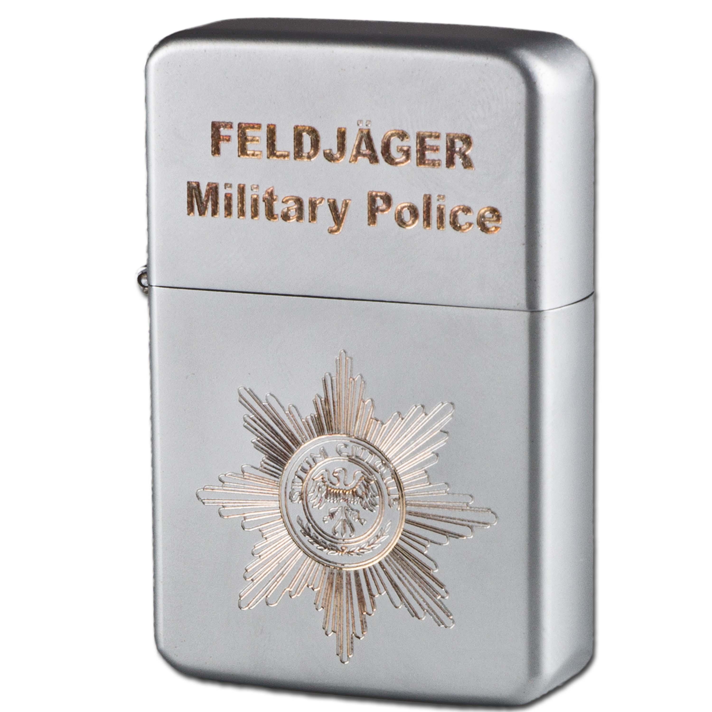 Encendedor de bolsillo Z-Plus Gas con grabado de Feldjäger