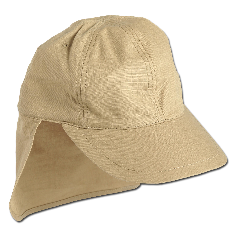 Gorra de campo BW con protector para el cuello caqui